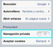 activarNavegacionPrivadaEniPhone
