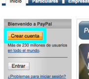 crearCuentaPaypal