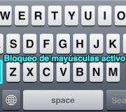 mayusculasFijasEniPhone