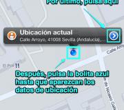 localizarUbicaciónEnMapasiPhone