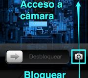 deslizarPantallaBloqueadaAccesoCamaraEniPhoneiPad